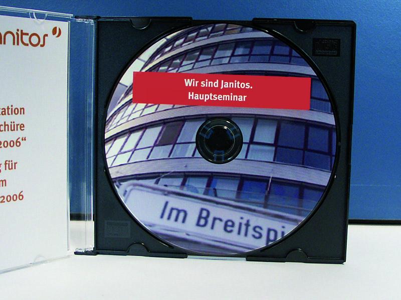 Bedruckte CD-R